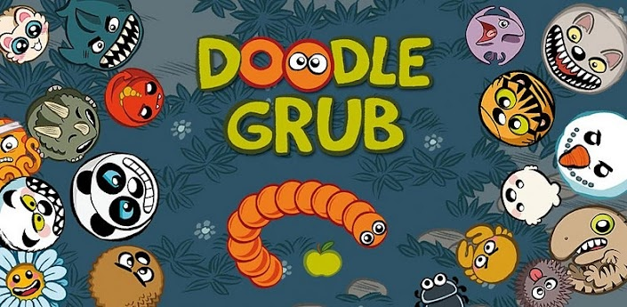 Doodle Grub Twisted Snake The game is over, Doodles