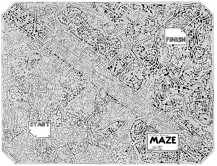 Free Maze Mazes Pinterest Maze And Home