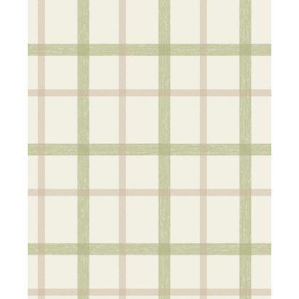 SuperFresco Plaid Wallpaper - Green