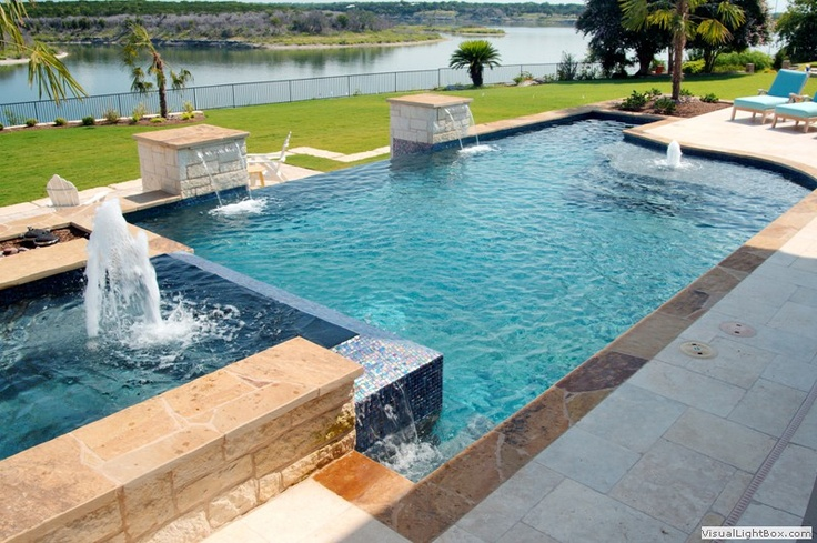 22 best outdoor living images on pinterest geometric pools homes and outdoor living for Swimming pool builders fort worth