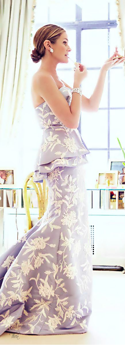 This Wedgewood inspired dress is cute for a summer event - a wedding or a big family gathering.