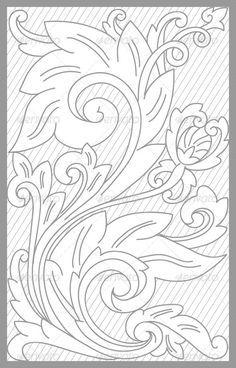 Madura Floral Set - Decorative Vectors
