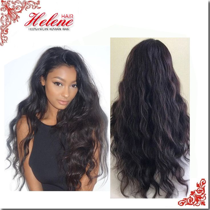 130 Density Glueless full lace wig & front lace wig Body Wave Brazilian virgin hair with baby hair for black women u part wig