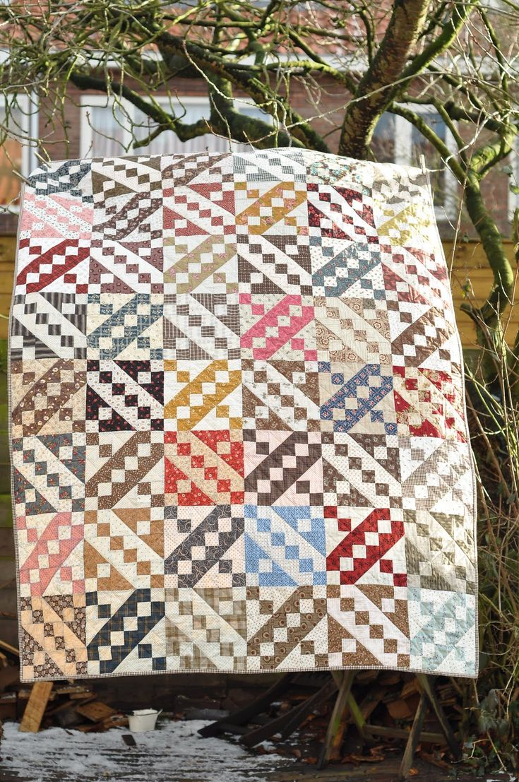 17 best images about quilting jacob 39 s ladder on for What to do with an old quilt