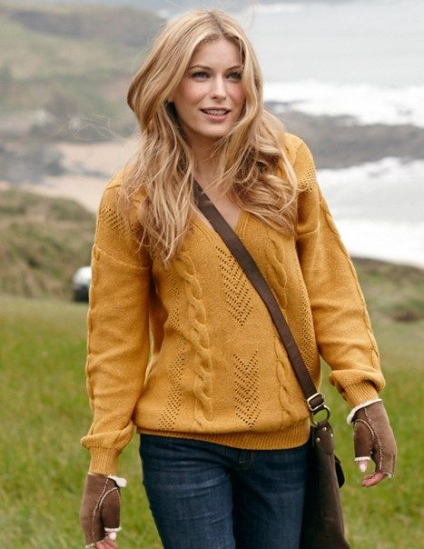Penweathers Cable Jumper | Womens Jumpers