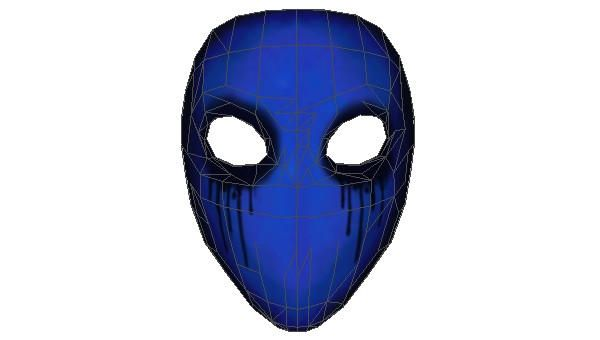 Life Size EyeLess Jack's Mask for Cosplay Free Papercraft Download…