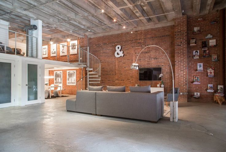 17 Best Ideas About Loft Living Rooms On Pinterest