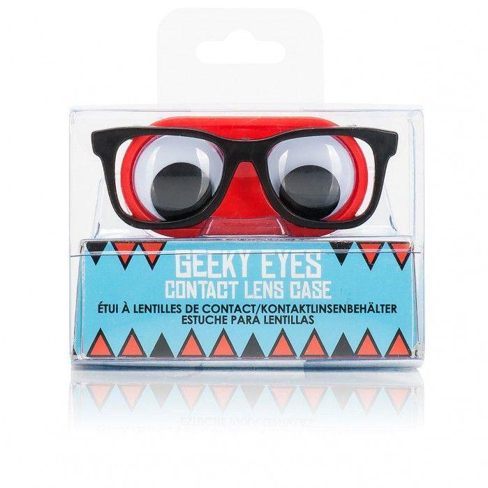 Geeky Eyes Kontaktlinsenbehälter