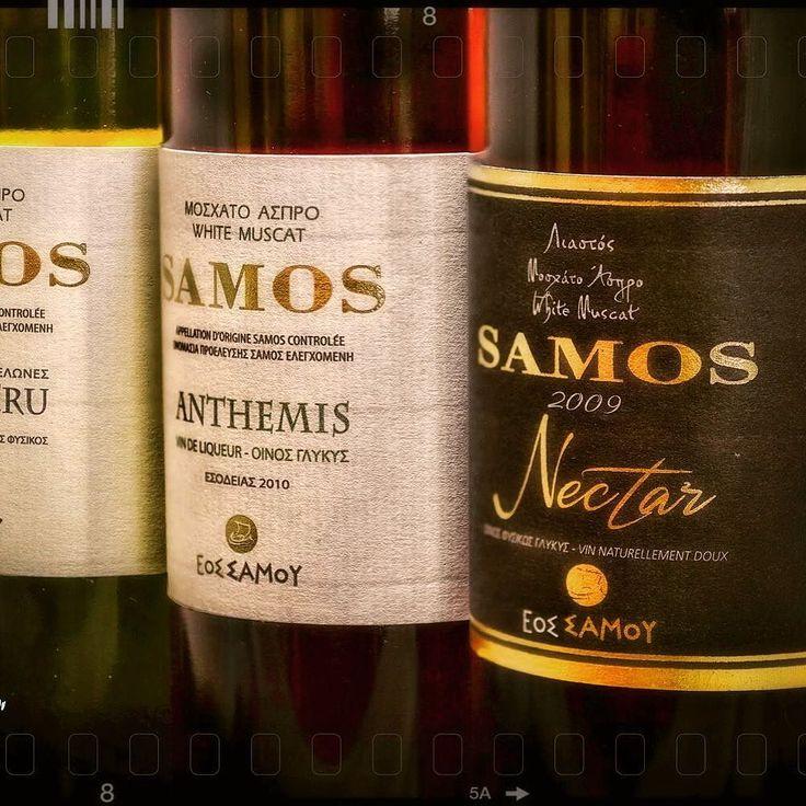 Samos sweet wines!