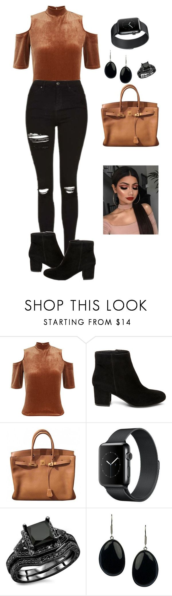 """""""business meeting"""" by accordingtogemia ❤ liked on Polyvore featuring Steve Madden and Hermès"""