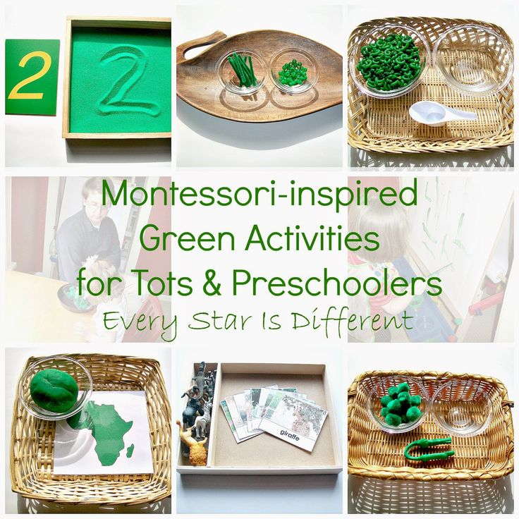Every Star Is Different: Montessori-inspired Green Activities for Tots & Preschoolers w/ Free Printables