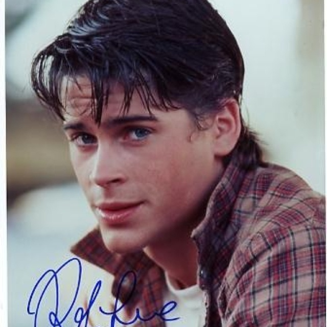 Rob Lowe as Soda Pop Curtis in The Outsiders | Hotties. Past & Present ...