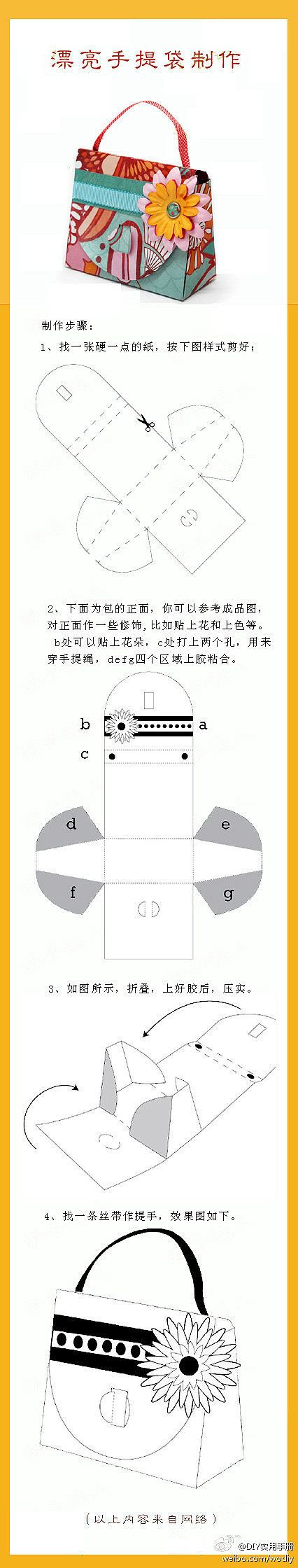 purse box template - bjl(MOLDE BOLSA)