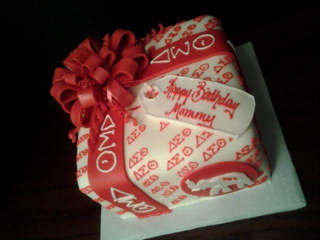 Delta Sigma Theta Cake Topper