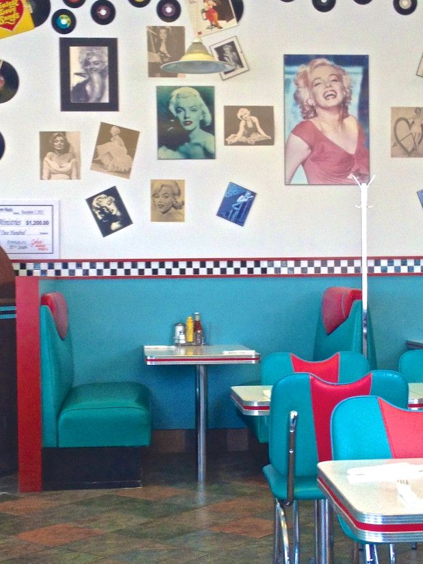 Fifties Dinner at the south-east corner of 4th Line and Speers Road,  Oakville