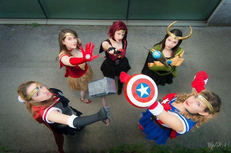 Sailor Avenger Cosplay Group <3