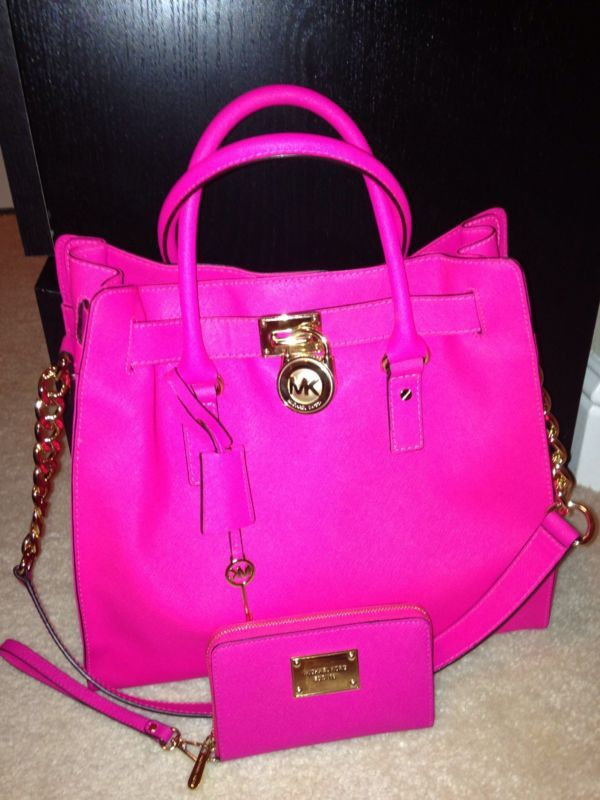 9 best Purses images on Pinterest | Bags, Mk handbags and Hot pink