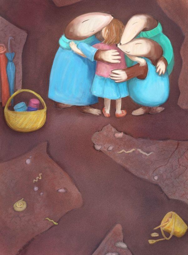"""O dziewczynce, której czegoś bardzo brakowało, 3 - w książce """"Gwiezdne Marzenia"""""""