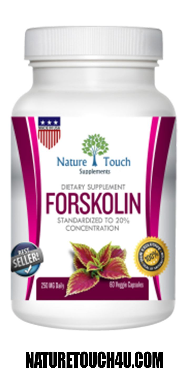 100% PURE NATURAL forskolin extract coleus forskohlii