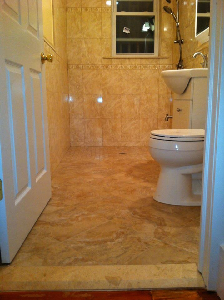 25 best ideas about roll in showers on pinterest for Handicapped bathroom ideas