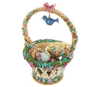 95 best jim shoreeaster collection images on pinterest jim o jim shore easter basket on qvc basketful of surprises 2012 4031691 negle Image collections