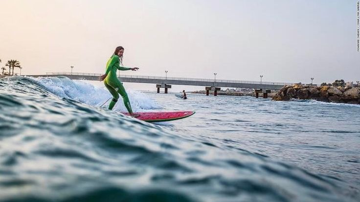 Middle East's unlikely surf destination