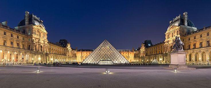 Visit the famous Louvre in Paris