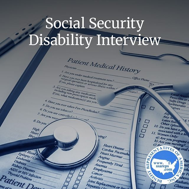 The Socialsecuritydisability Interview Normally Takes About An