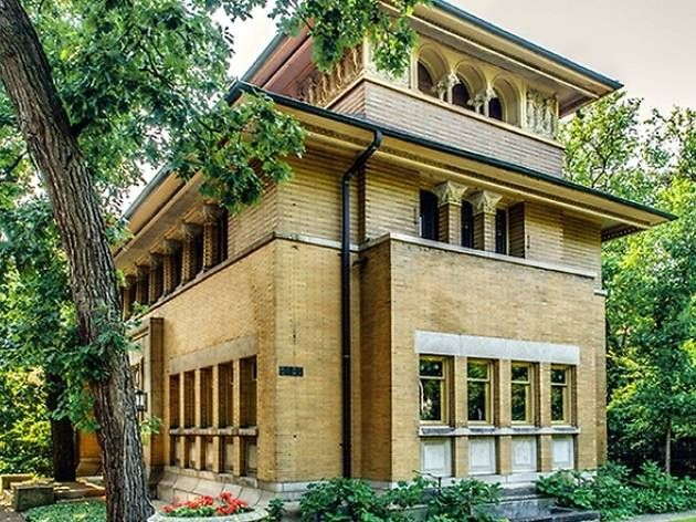 Frank Lloyd Wright's stunning Heller House is back on the market in Hyde Park