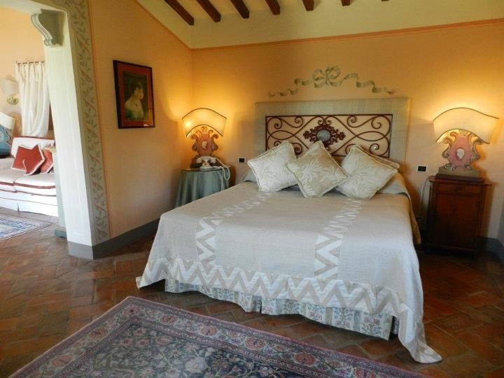 Junior suite with garden in front and enchanting view