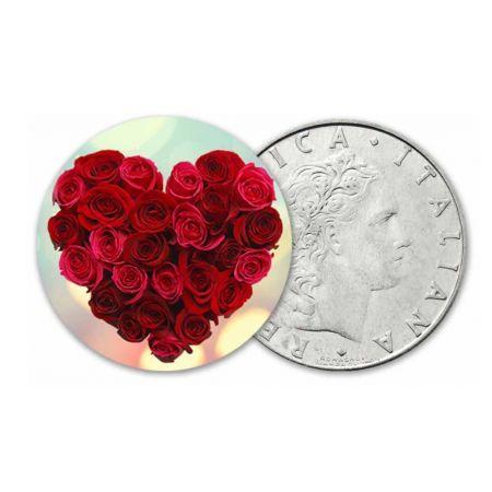 Valentine's Day ♥ Έγχρωμο Νόμισμα, εκδ. Ιταλία, €14.90 coinsclub.gr