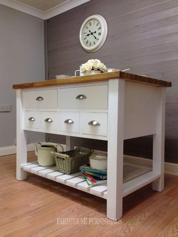 Kitchen Island, Painted Kitchen Units, Oak Kitchen Islands for Sale
