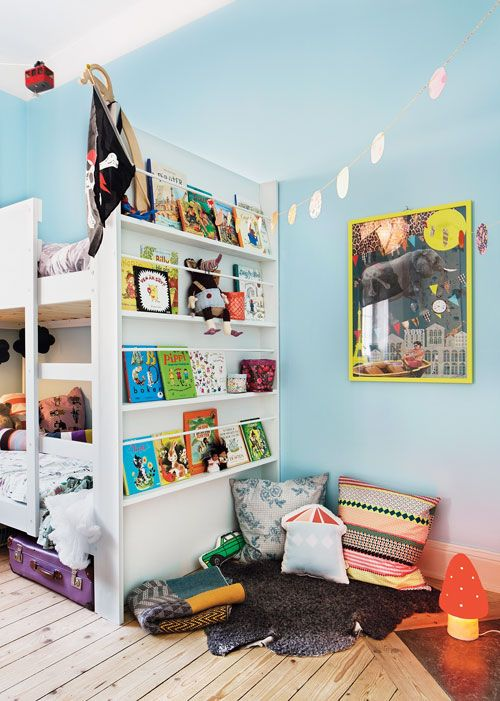 Dela rum – fint och fiffigt hos Olle och Elsa - Föräldrar Barn