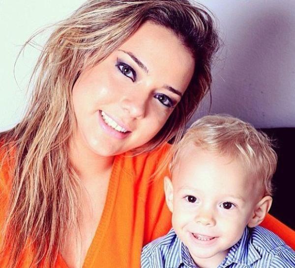 david lucca da silva | Neymar son photos, with his mother ...  david lucca da ...