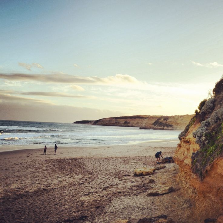 Jan juc beach VIC australia