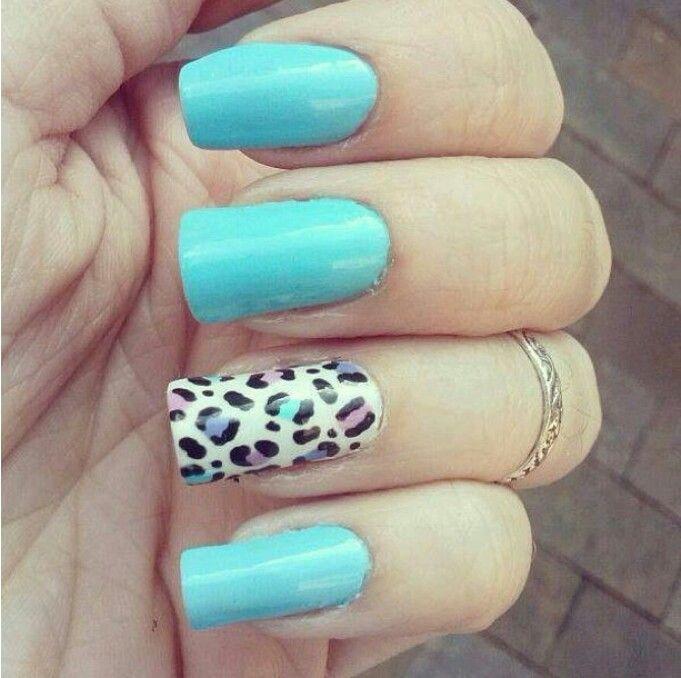 Blue, cheetah