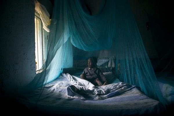 Merlin is giving bed nets to families and helping people understand how they can try and live a malaria-free life in Kenya.Photo by Ben Langdon