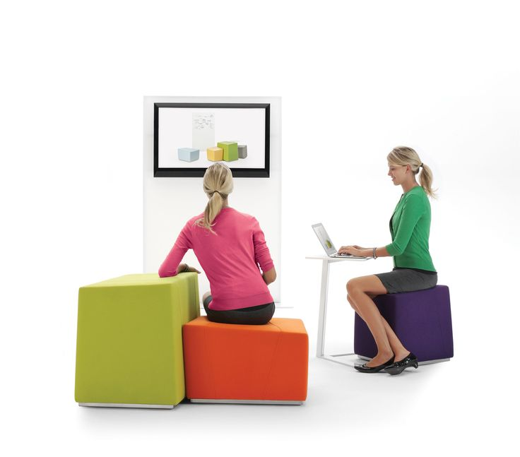 These Comfortable Modern Furniture Seats Are Fun, Customizable For Any  Space, And Provide A · Kreative BüroflächeBüro IdeenBüromöbelBibliothek  MöbelModulare ...