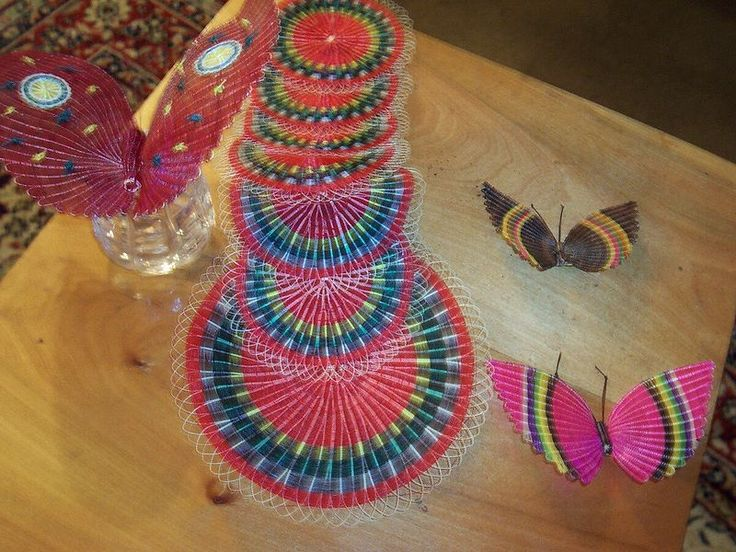 Rari handicrafts, Chile