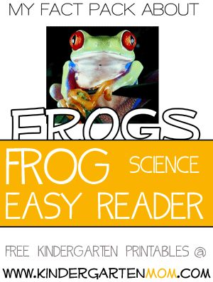 I can read about FROGS!  Real Photo, early reader