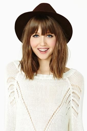 25 trending bangs medium hair ideas on pinterest mid length love the hair length urmus Gallery