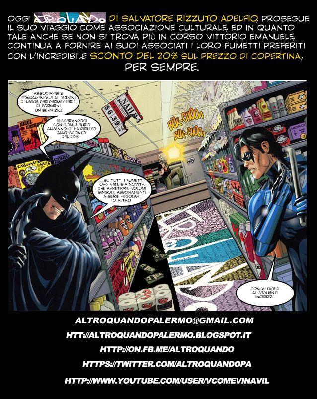Altroquando Palermo: i fumetti sono per sempre.