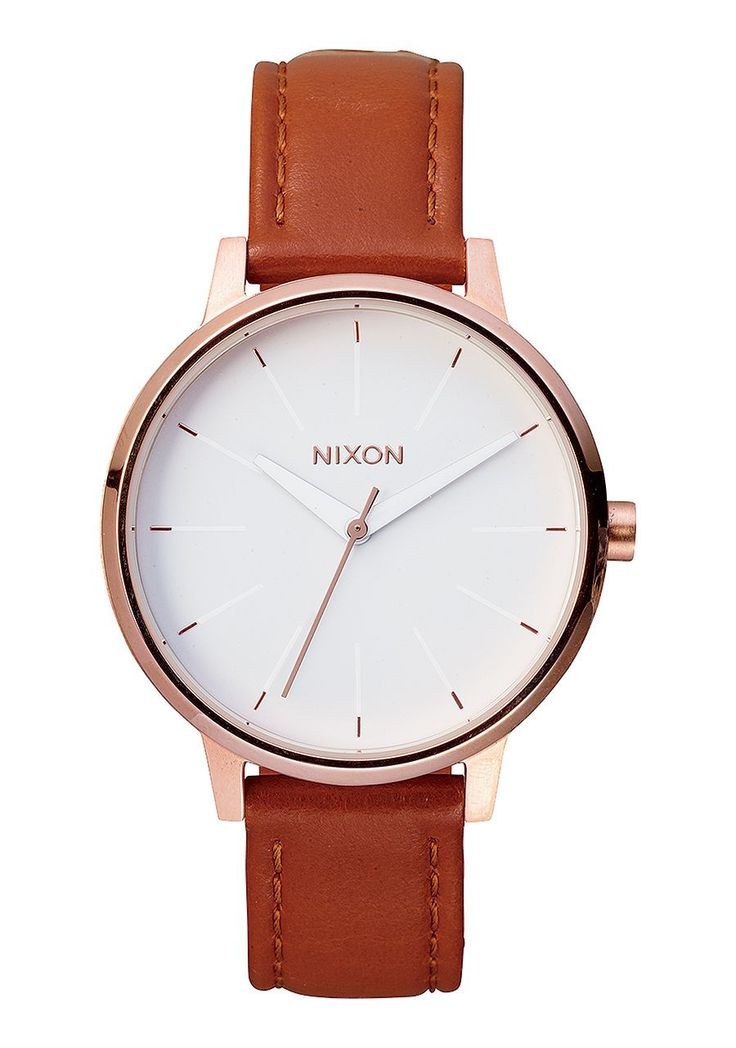 Classic, but never stuffy, The Kensington Leather's simple 3-hand analog, Japanese movement, and leather band is an updated take on heirloom styles. MOVEMENT: Miyota Japanese quartz 3 hand. DIAL: This