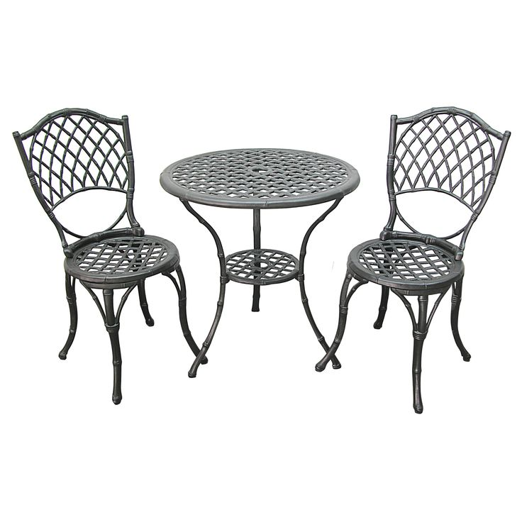 Innova Hearth and Home 3 Piece Bistro Set