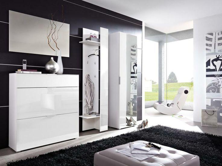 PERLA Hatthylla Vit i gruppen Inomhus / Förvaring / Hallmöbler hos Furniturebox (100-55-70292)