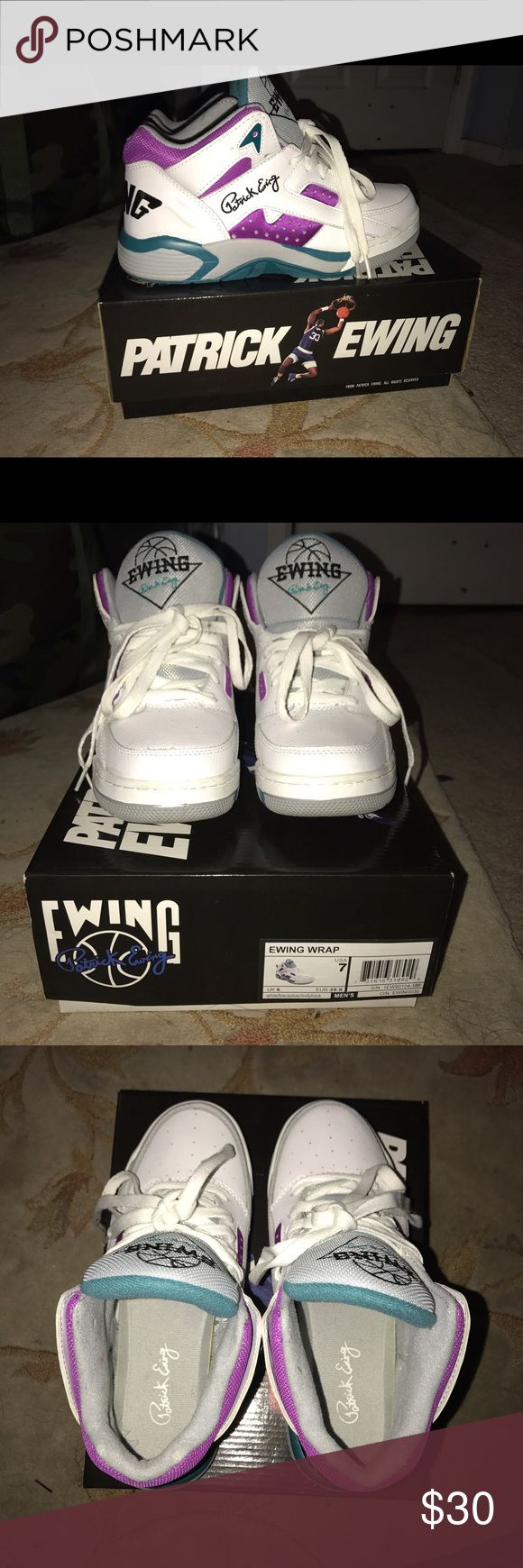 Selling this Patrick Ewings Sneakers on Poshmark! My username is: kurrnn_. #shopmycloset #poshmark #fashion #shopping #style #forsale #Patrick Ewings #Shoes