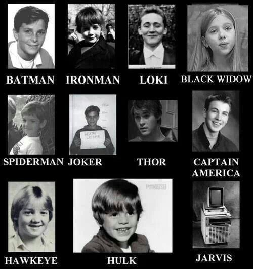 Before they were heros