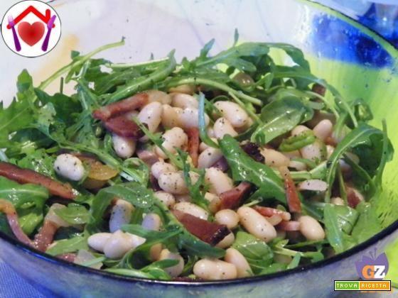 Insalata di fagioli e rucola - Ricetta