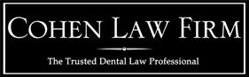 Cohen Law firm, PLLC is an experienced law firm in Texas specialized in dental related cases. We help the dentists in transition of their dental practices. We provide proper agreements in the acquisition or sale of the dental practices. We also provide the legal advice in dental partnerships and associateships.