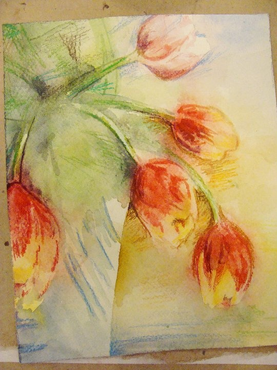 """Tulipaner"" by Ida Nyström"